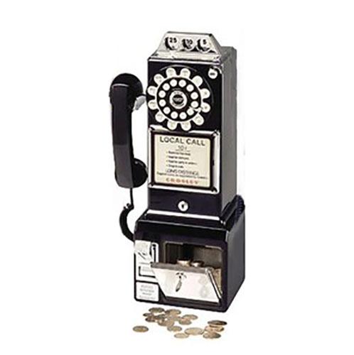 Telefono americano retr da parete con filo arridea - Telefoni a parete ...