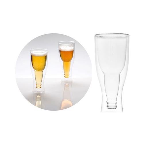 Coppia bicchieri da birra Gravity termoisolanti