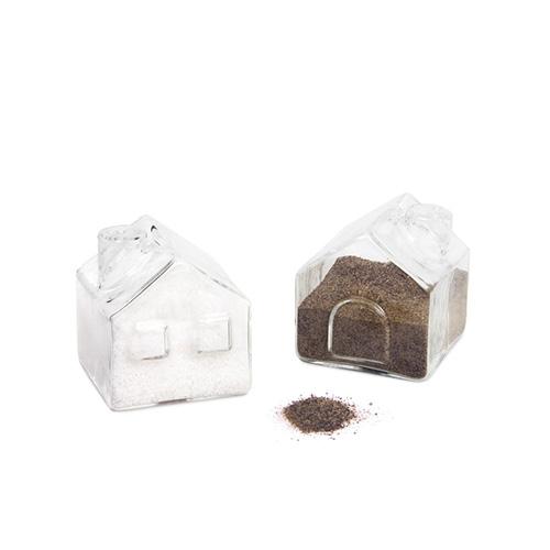 Sale e pepe La Ville a forma di casette