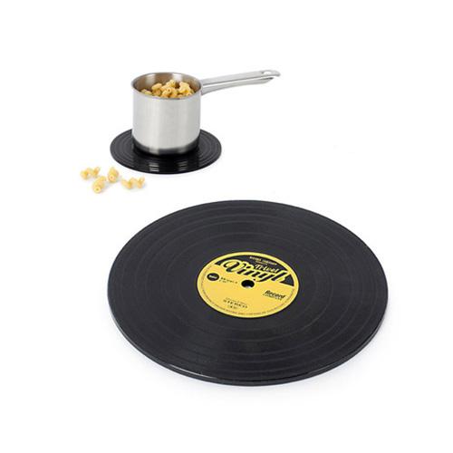 Sottopentola Vinyl a forma di disco vinile