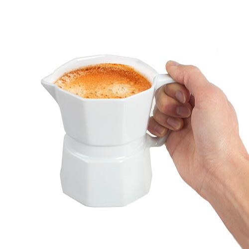 Tazza, mug o lattiera a forma di Moka