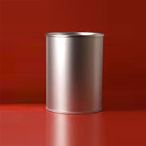 Gettacarte tondo in alluminio anodizzato