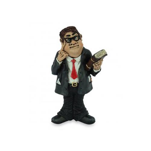 """Statuina, caricatura mestiere, professione """"Avvocato, Professore"""""""