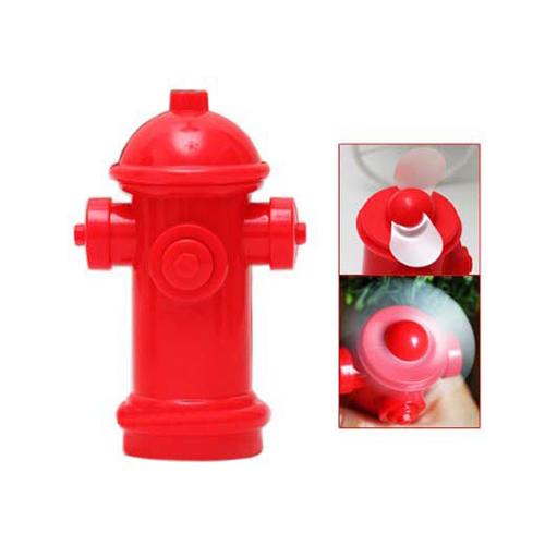 Mini ventilatore Idrante rosso portatile da borsa