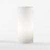 Lampada da tavolo Decolight cilindrica bianca