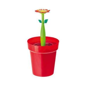 Cestino Flower Power con contenitore interno