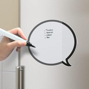 Lavagna frigo Talk magnetica e scrivibile