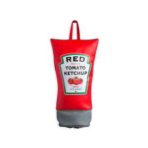 Porta buste Ketchup, dispenser per buste di plastica