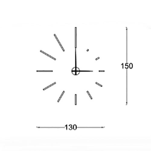Orologio da parete Spirale
