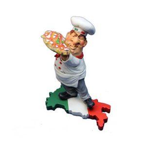 statuina pizzaiolo su italia