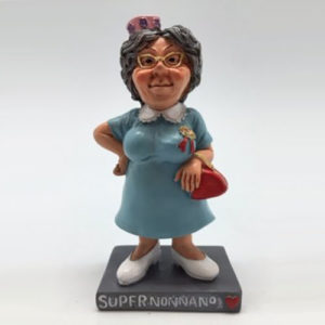 Statuina caricatura mestiere super nonna n.1