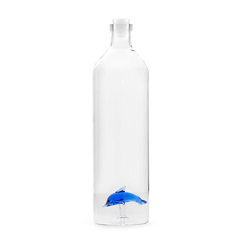 Bottiglia Delfino 1,2 l. in vetro borosilicato
