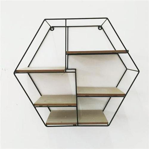Librerie In Metallo Scaffali.Scaffale Da Parete O D Appoggio Parigi In Metallo E Legno