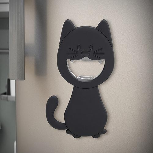 Apribottiglia Katy magnetico a forma di gattino