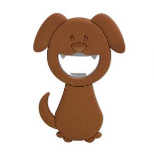 """Apribottiglia calamitato """"Woof"""" magnetico, a forma di cane"""