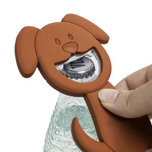 Apribottiglie magnetico a forma di cagnolino
