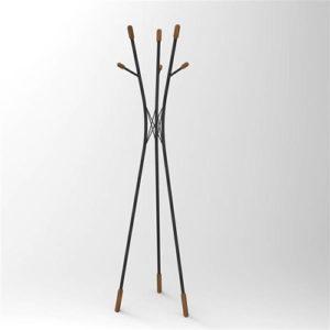 Attaccapanni appendiabiti Tree da terra in metallo e legno