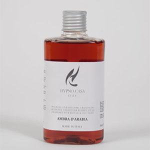 Ricarica per diffusore a bastoncini 200 ml Ambra D'Arabia Linea Hypno Casa