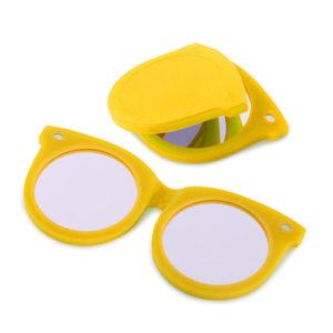Specchietto tascabile Shadesa forma di occhiali