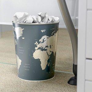 Cestino carta Globe