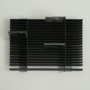 Porta CD da parete per 72 CD in legno