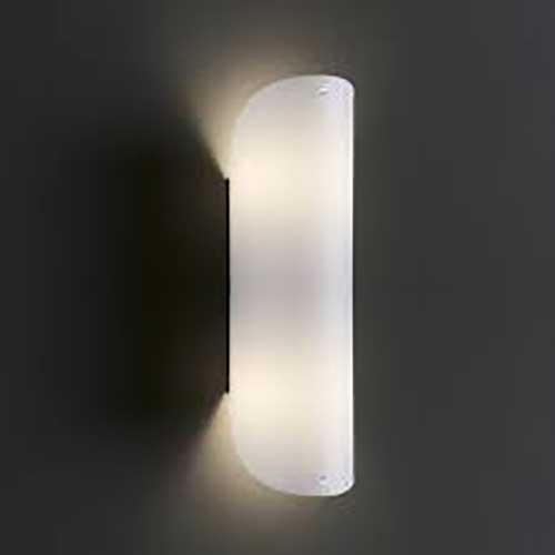Applique lampada da parete Helios Tube 32 bianca