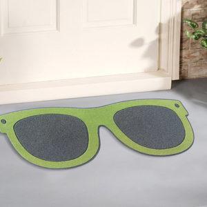Zerbino Sunny Day a forma di Occhiali verde