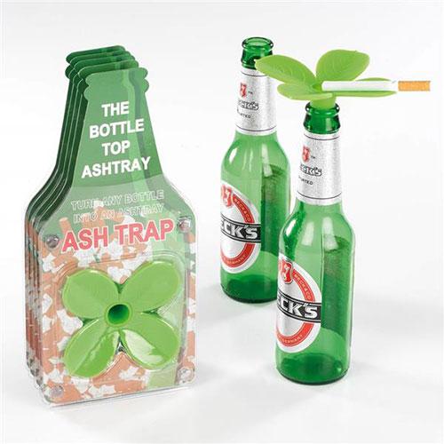 Posacenere quadrifoglio da bottiglia in silicone