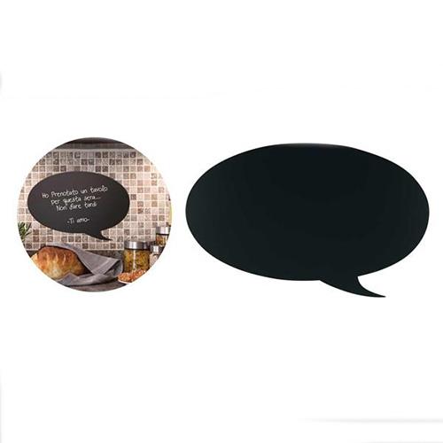 Lavagna Fumetto da parete nera scrivibile con pennarello
