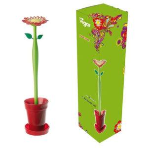 Scopino per WC a forma di Fiore Flower Power Vigar
