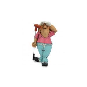 Statuina, caricatura mestiere, professione Golfista