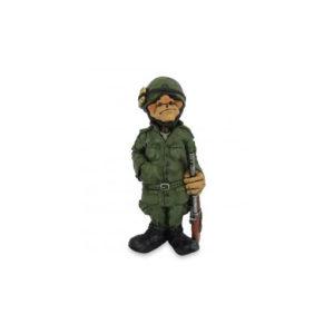 Statuina, caricatura mestiere, professione Soldato