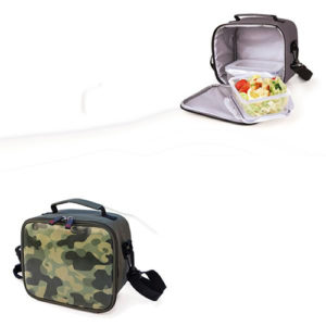 Borsa lunch bag termico Quick Freestyle da 4 lt. con 2 contenitori 600 ml.
