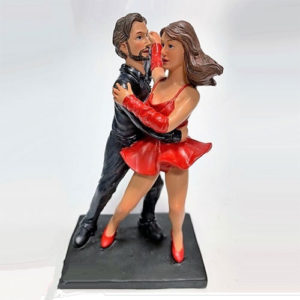 Statuina, caricatura mestiere, professione Ballerini Latino Americani