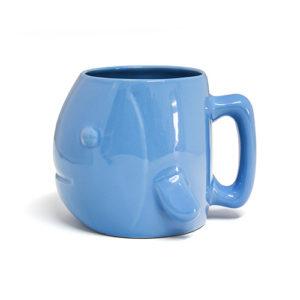 Tazza Aquarium Pesce 500 ml. azzurro in ceramica Balvi