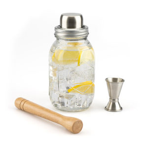 Shaker Drink 800 ml. cristallo trasparente Balvi
