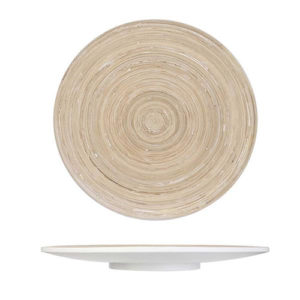 Vassoio rotondo in Bambù diametro cm. 35