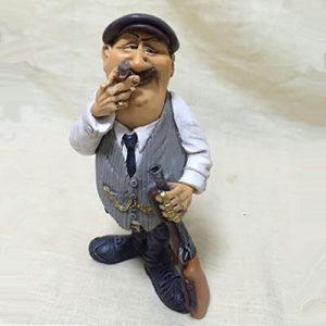 Statuina, caricatura mestiere, professione Mafioso