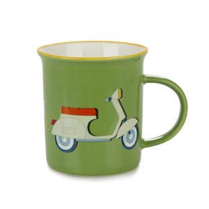 Tazza Mug da colazione con Vespa