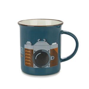 Tazza Mug da colazione con Macchina Fotografica