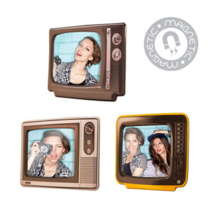 Portafoto Televisore 7 x 8,5 cm magnetico