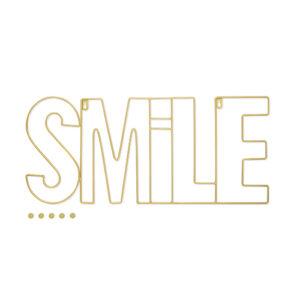 Portafoto Smile da parete con 5 magneti