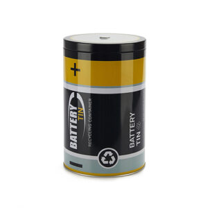 Contenitore Batteria per pile esaurite