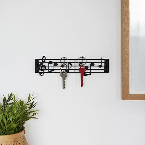 Portachiavi Pentagramma Musicale da parete