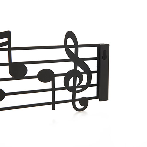 Appendiabiti Pentagramma Musicale da parete