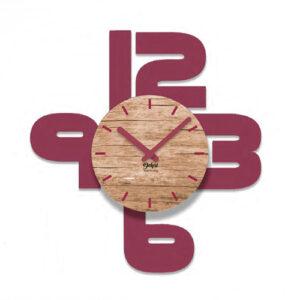 Orologio Numeri da parete in legno