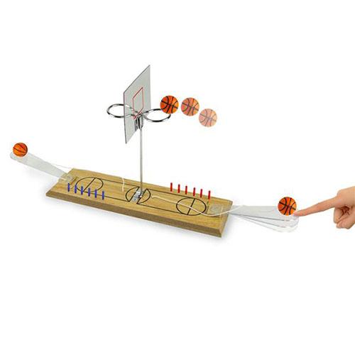 Gioco Canestro Basket doppio completo di 2 shottini