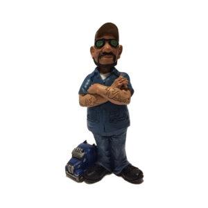 Statuina, caricatura mestiere, professione Camionista