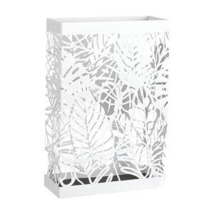 Portaombrelli Isla2 in metallo color bianco Mascagni