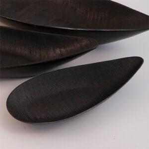 Vassoio svuotatasche in ceramica nero